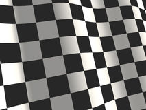 Sports background - an abstract checkered flag Royalty Free Stock Photos