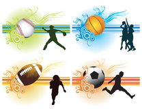 Sports Background Stock Photography