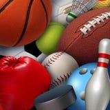 Sports Background Stock Image