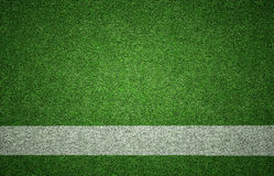 Sports Background on Grass Texture Stock Images