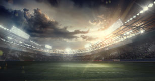 Sports Background. Sport Arena. Sports Background. Football Stadium. Sport Arena Stock Photography