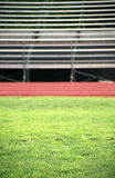 Sports background of a sports stadium, with bleachers or stands Royalty Free Stock Photo