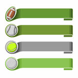 Sports background for text Royalty Free Stock Images