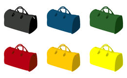Sports bag Royalty Free Stock Photo