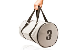 Sports bag stock images