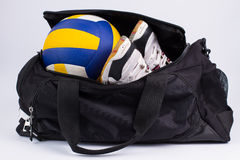 Sports bag. Royalty Free Stock Image