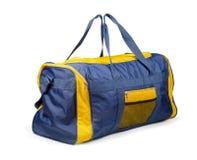 Sports bag. Large nylon sports bag  on white Stock Images