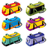 Sports bags Stock Photo
