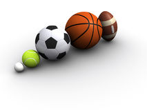 Sports ball Royalty Free Stock Photos