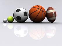 Sports ball Stock Photography