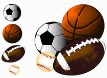 Sports Ball Background Royalty Free Stock Photos