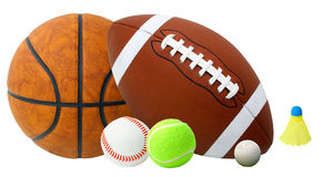 Sports Balls Stock Photos