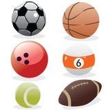 Sports balls Stock Photos