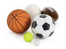 Sports balls Stock Photo