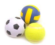 Sports balls Royalty Free Stock Photos