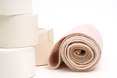 Sports bandage & tape Royalty Free Stock Photography