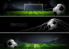Sports Banners. Vector Royalty Free Stock Image
