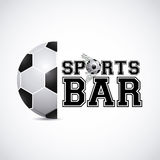 Sports bar Royalty Free Stock Images