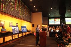 Sports Betting Launch in Delaware Royalty Free Stock Photo