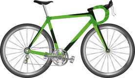 Sports bicycle vector illustration