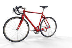 Sports Bicycle Red Royalty Free Stock Images