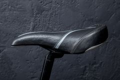 Sports bike seat Royalty Free Stock Image
