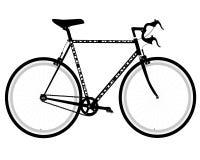 Sports bike. Sport bike on a white background Royalty Free Stock Photo
