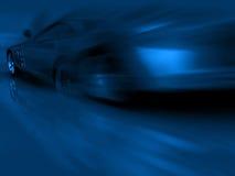 Sports blue car Stock Image