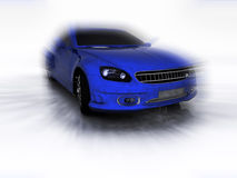 Sports blue far Stock Image