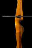Sports Bow and Arrow Stock Image