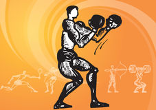 Sports_Boxing Royalty Free Stock Image