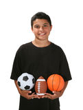 Sports Boy Royalty Free Stock Photos
