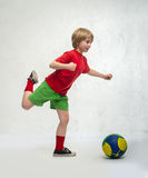 Sports boy Stock Images