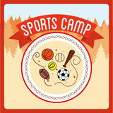 Sports camp Stock Photography