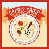 Sports camp. Design, vector illustration eps10 graphic vector illustration