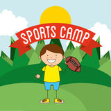 Sports camp Royalty Free Stock Photos