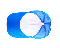Sports cap isolated on white stock photography