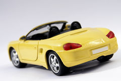 Sports car. Beautiful yellow sports car. Great colors Royalty Free Stock Photo