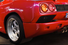 Sports car. Very nice sports car in red Stock Image