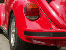 Sports car. Red sports car back stock image
