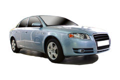Sports car. From a series of sports cars with clipping paths Stock Photos