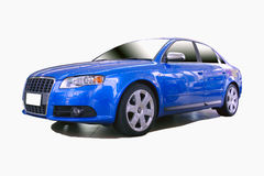 Sports car. From a series of sports cars with clipping paths Royalty Free Stock Images