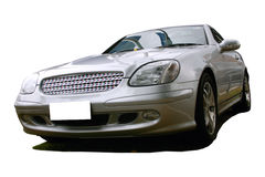 Sports car. From a series of sports cars with clipping paths Stock Photography