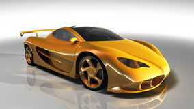 Sports car. Image of the sports car Stock Image