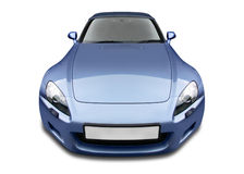 Sports Car. Front view of sports car Royalty Free Stock Photos