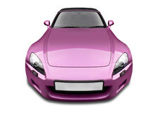 Sports Car. Front view of sports car Stock Photography