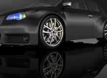 Sports car - 3d render Stock Photos
