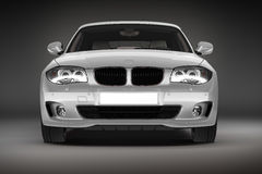 Sports car.  3d render Stock Photography