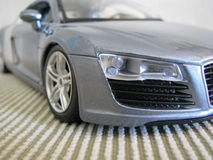 Sports Car 4. Macro of Toy Sports Car Stock Photos