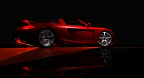 Sports car Royalty Free Stock Images
